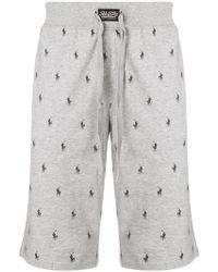 Polo Ralph Lauren - All Over Logo Shorts - Lyst