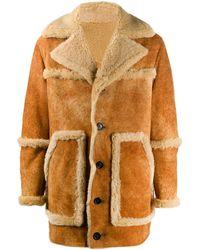 DSquared² Shearling Coat - Multicolor