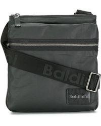 Baldinini Zipped Messenger Bag - Black