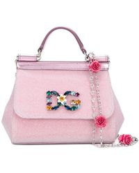 af21d65444 Dolce   Gabbana - Mini Sicily Crossbody Bag - Lyst
