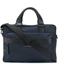 Tommy Hilfiger ロゴ Pcバッグ - ブルー