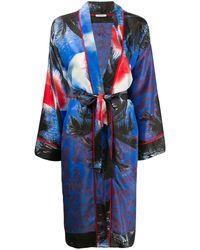 P.A.R.O.S.H. Пальто-кимоно - Синий