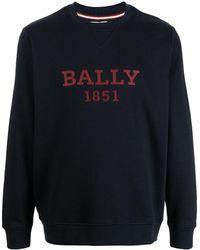 Bally ロゴ スウェットシャツ - ブルー