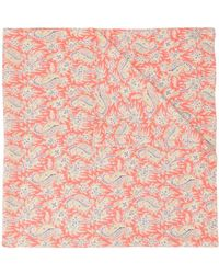 Mackintosh Liberty Print Scarf - Pink
