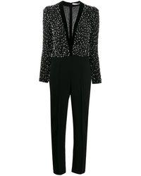Givenchy デコラティブ ジャンプスーツ - ブラック