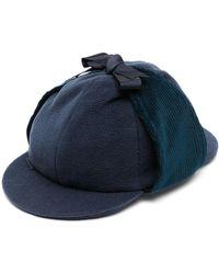 Anglozine Don Deerstalker Hat - Blue