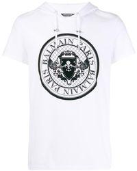 Balmain Medallion Tシャツ - マルチカラー