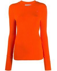 Courreges ロゴ セーター - オレンジ