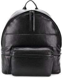 Ermanno Scervino Quilted effect backpack - Negro