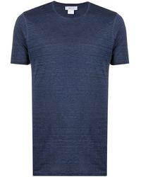 Avant Toi クルーネック Tシャツ - ブルー