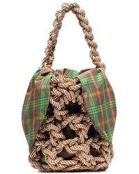 Rejina Pyo Sylvia Rope Tote Bag - Natural