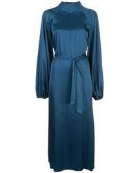 Rochas - ベルテッド ドレス - Lyst