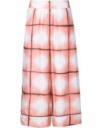 Thakoon Addition - Printed Silk Culottes - Lyst