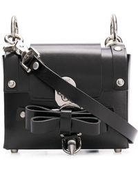 Niels Peeraer Baby Bow Buckle Bag - Black