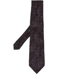 Etro Cravatta a fiori - Nero