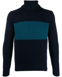 Lardini タートルネック セーター - ブルー