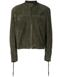 Haider Ackermann - Banded Collar Zipped Jacket - Lyst