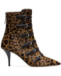 Tabitha Simmons - Dash 75 Buckle Ankle Boots - Lyst