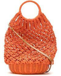 Serpui - Crochet Straw Bag - Lyst