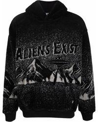 DIESEL - Aliens Exist パーカー - Lyst