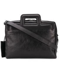 Marsèll Structured Briefcase - Black