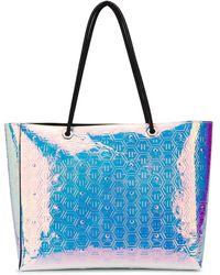 Philipp Plein Iridescent Tote Bag - Pink