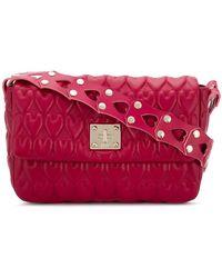 RED Valentino - Heart-embossed Shoulder Bag - Lyst