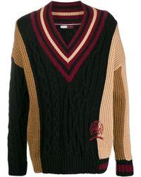 Tommy Hilfiger Vネック セーター - ブラック