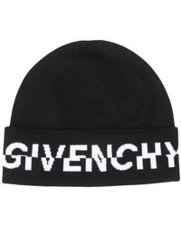 Givenchy Шапка Бини С Логотипом - Черный