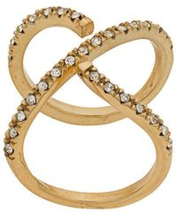 FEDERICA TOSI - Cross Ring - Lyst