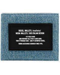 DIESEL Jeans-Portemonnaie - Blau