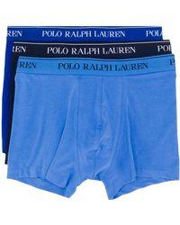 Polo Ralph Lauren 3-er Pack Shorts mit Logo - Blau