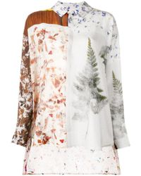 Anntian - Floral Print Shirt - Lyst