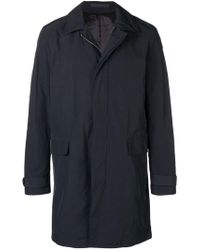 Tiger Of Sweden - Button Single Breasted Coat - Lyst