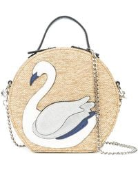 Christian Siriano - Swan Patch Tote Bag - Lyst