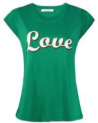 Dorothee Schumacher グラフィック Tシャツ - グリーン