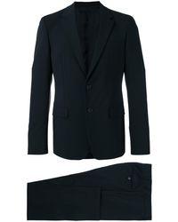Prada Klassischer Anzug - Schwarz