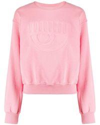 Chiara Ferragni ロゴ スウェットシャツ - ピンク