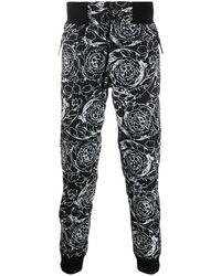 Versace Jeans Couture Baroque Print Pants - Black