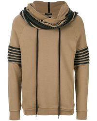 Unconditional - Funnel Neck Hoodie - Lyst