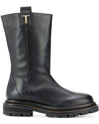 Twin Set Ботинки На Массивной Подошве - Черный
