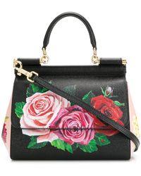 Dolce & Gabbana Sicily Mini Bag - Black