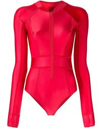 Duskii Body long isotherme - Rouge