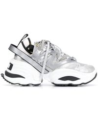 DSquared² Backyard Punk The Giant Trainers - Grey