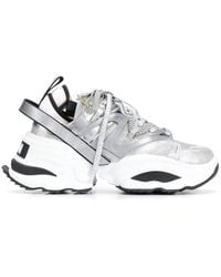 DSquared² Backyard Punk The Giant Trainers - Gray