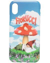 Fiorucci Чехол Для Iphone X/xs С Принтом - Синий