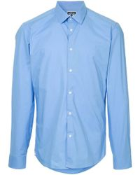 KENZO - Pointed Collar Shirt - Lyst
