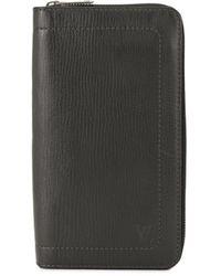 Louis Vuitton Pre-owned Utah Zippy Wallet - Grey