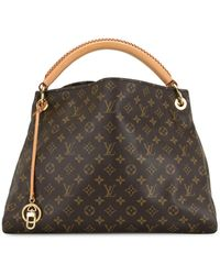 Louis Vuitton Borsa tote Artsy 2012 Pre-owned - Marrone