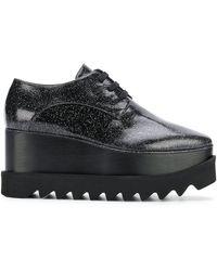 Stella McCartney - Black Star Lace-up Shoes - Lyst